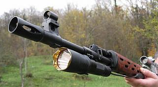 Подствольные оружейные фонари, фонарики тактические
