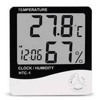 Термометр HTC-1, цифровой термометр-гигрометр, гигрометр электронный, комнатный термометр, измеритель влаги