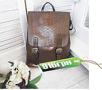 Стильные кожаные рюкзачки трансформеры , рюкзак кожа KT32245, фото 1