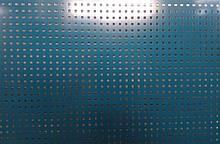 Перфорований метал 5х5х15 розміром перфорації 5мм на 5мм шагом 15мм з покраскою