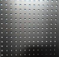Перфорований метал 10х10х28 розміром перфорації 10мм на 10мм шагом 28мм без покраски