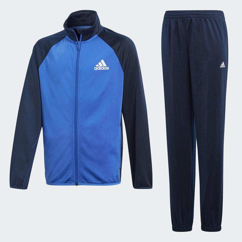 Оригинальный подростковый спортивный костюм Adidas BOYS TRACKSUIT ENTRY CLOSED HEM