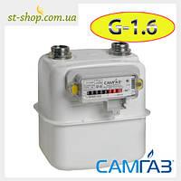 Счетчик газа СамГаз G 1,6 RS 2001-2P (Мембранный)