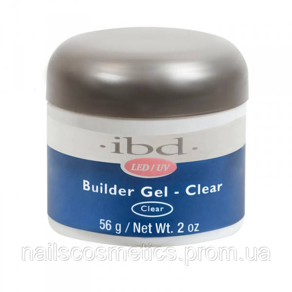 LED/UV Builder Gel Clear, 56 мл. - прозрачный конструирующий гель