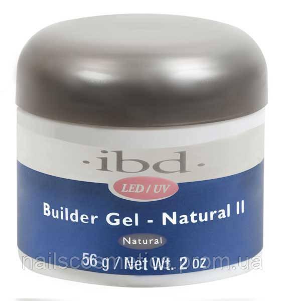 LED/UV Builder Natural II, 56 мл. - конструирующий гель