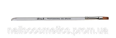 Deluxe Professional Gel Brush - прямоугольная кисть из соболя для геля
