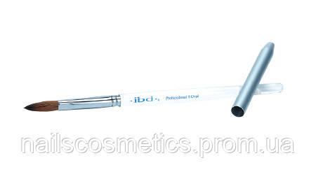 Deluxe Rund Gel Brush - заострённая синетическая кисть для геля