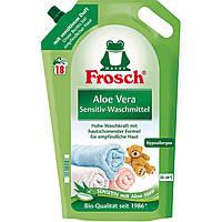 Frosch Aloe Vera Sensitiv-Flüssigwaschmittel - Гель для стирки с Алоэ Вера гипоаллергенный, 18 стирок