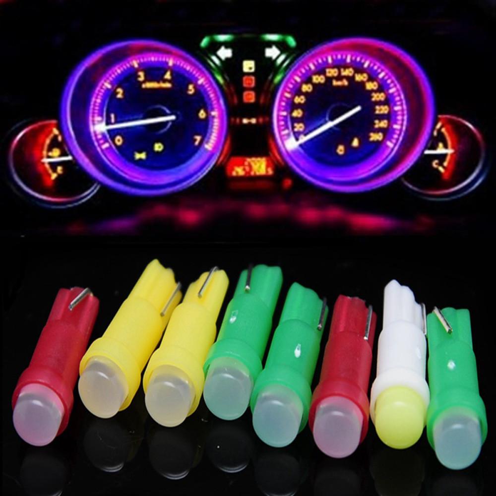 Салатовые светодиодные лампы для автомобиля