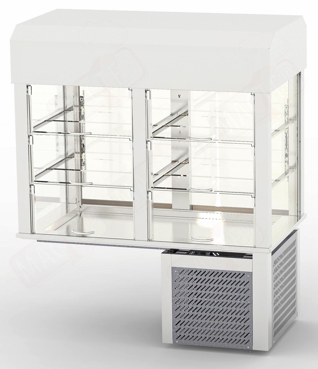 Вітрина холодильна врізна CD-1,0(built-in) 1000х700х1425