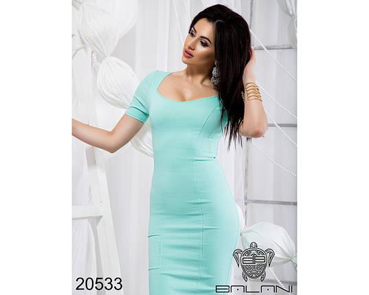 Платье код. 20533 Мятное, фото 2