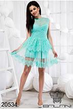 Платье Мятное код 20534, фото 3