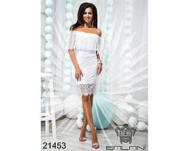 Платье Белое код 21453, фото 2