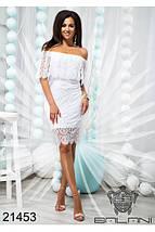 Платье Белое код 21453, фото 3