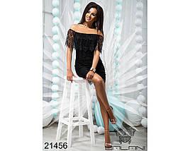 Платье Черное код 21456, фото 3