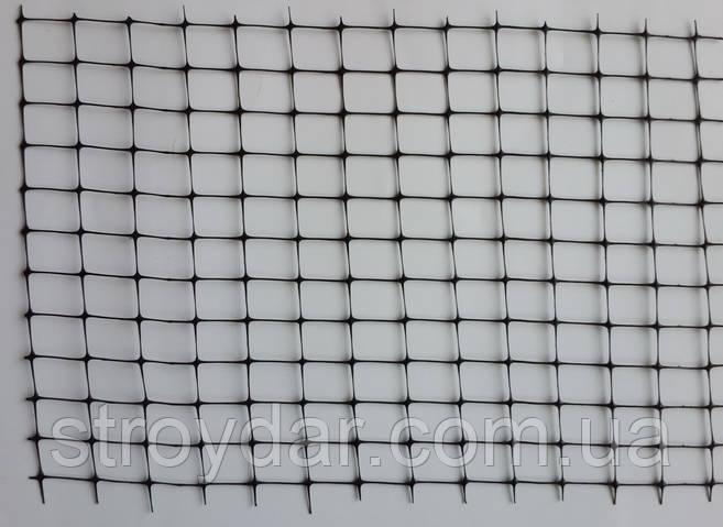 Пластиковая сетка универсальная Клевер У 12 Черная