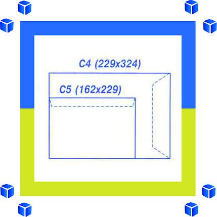 Конверты С4 (324х229) скл, бел. (0+0), фото 2