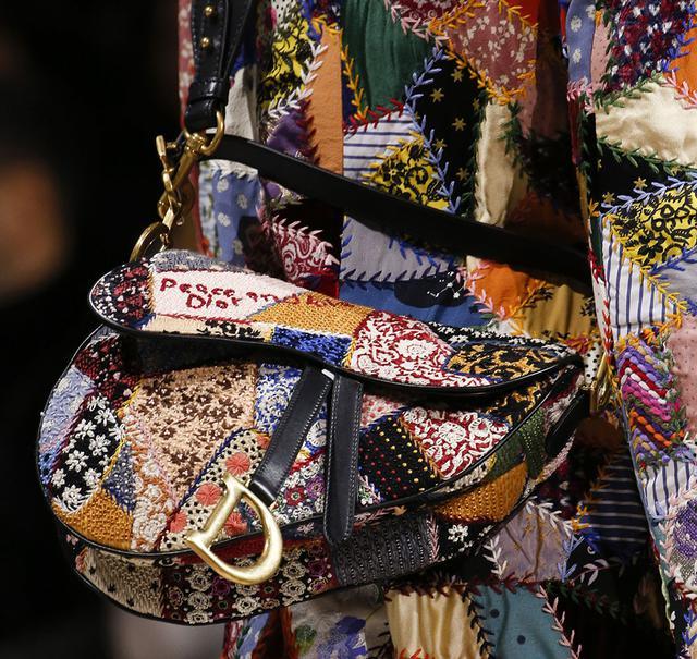 Седельная сумка Dior, фото №4 - интернет-магазин Denim Today
