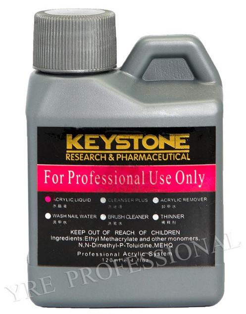 Ликвид (мономер) 120 мл для наращивания ногтей Keystone YRE \ 08