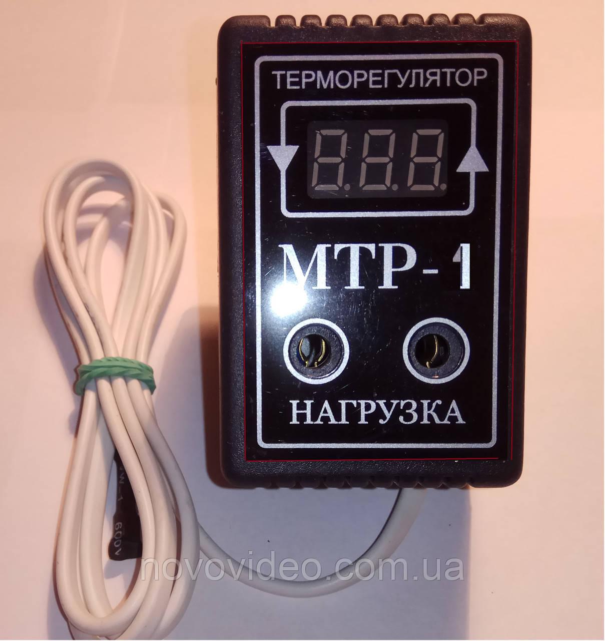 Терморегулятор на один предел температуры МТР-1 на 10А