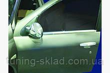 Хром наружная окантовка стекол Renault Clio 2009-2012  (Рено Клио)
