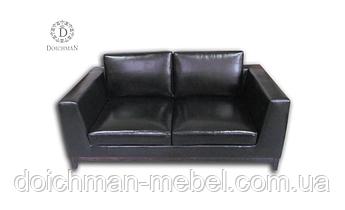 Комплект кожаной мягкой мебели, диван и кресла из кожи, кожаный гостинный комплект купить в Украине