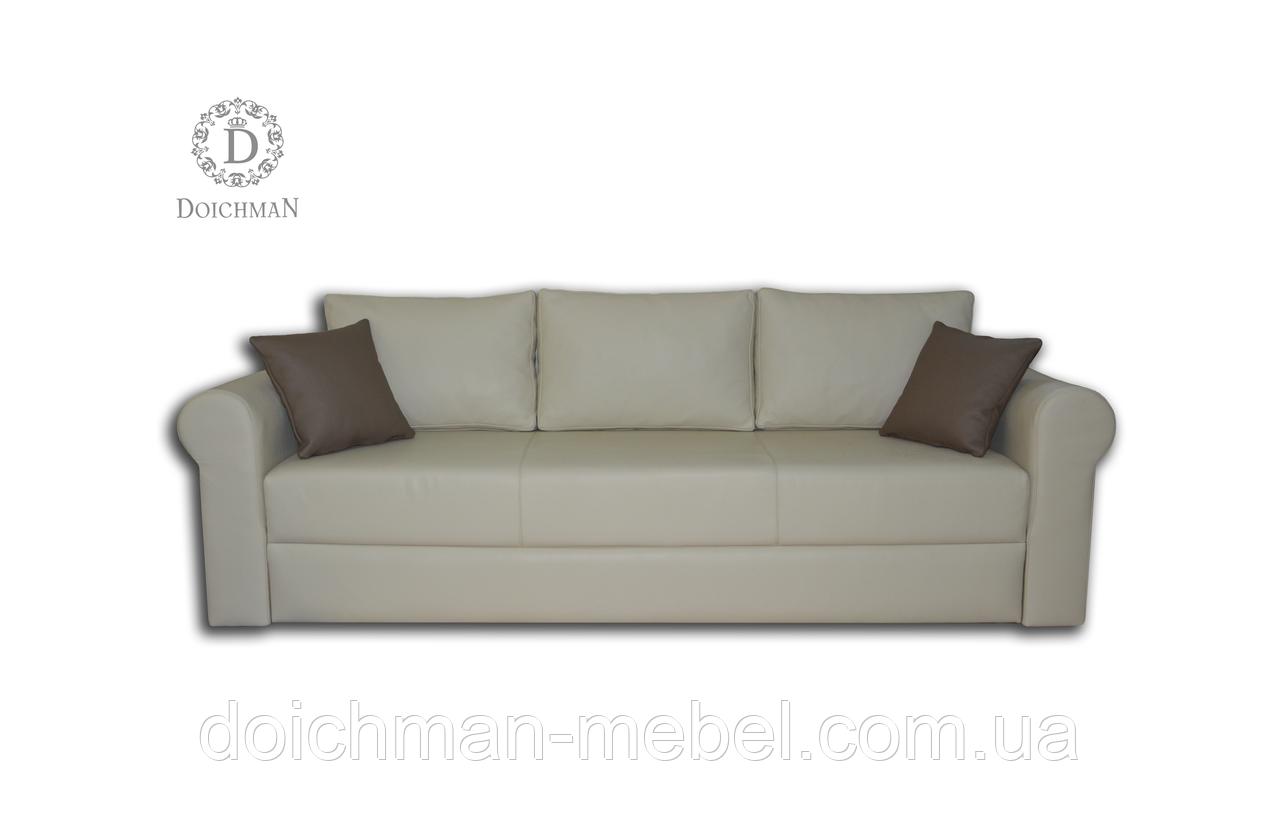 973fd48c0ac1 Кожаный диван Еврокнижка для ежедневного сна от производителя -  Производитель мебели DOICHMAN furniture (Дойчман мебель