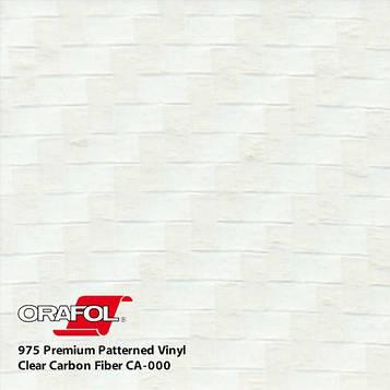 Карбоновая прозрачная пленка Oracal 975 3D Clear Carbon