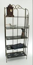 Кованя раскладная этажерка на 5 полок Э5