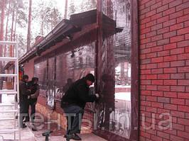 Прозрачные шторы ПВХ: ЗИМА 2014