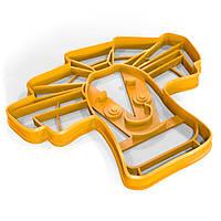 Вырубка для пряников Фиксик Папус 9*11 см (3D)