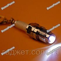 Брелок, свеча зажигания - фонарик, фото 3
