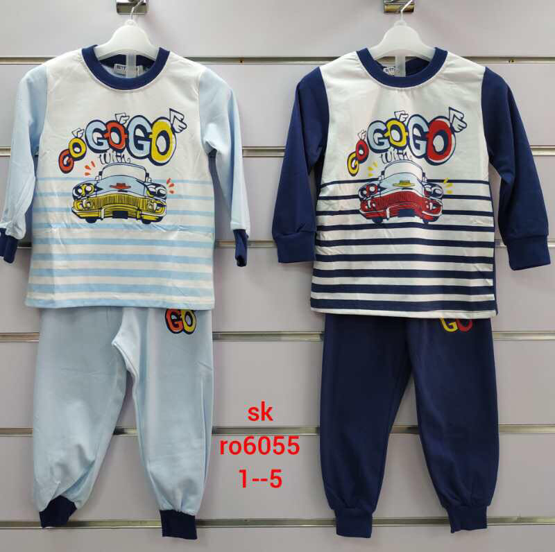 Пижама для мальчиков оптом, Setty Koop ,1-5 лет.,арт. RO6055