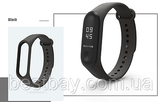 Ремешок для Фитнес-трекера Xiaomi Mi Band 3 Черный