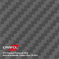 Карбоновая пленка антрацит Oracal 975 3D Carbon, фото 1