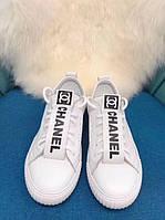 Белые кеды от Chanel