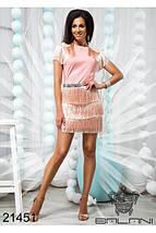 Платье пудра 21451, фото 3