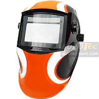 Маска сварщика хамелеон Gradient W997, 1/30000 с, DIN5-13, сварочная маска со светофильтром, сварочный шлем