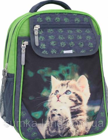 970514d1e62e Детский школьный рюкзак для девочки Bagland Отличник с ортопедической  спинкой (принт серый 21 д)