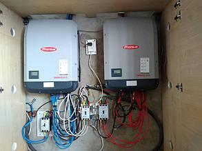 сетевой солнечный инвертор Fronius ECO 27.0-3-S установка и настройка