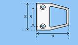 Ручка для москитной сетки АНВИС под саморез, фото 2