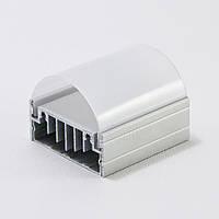 Рассеиватель РН50 на алюминиевый накладной светодиодный профиль ЛН50 LED (ТИС)