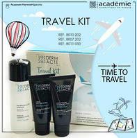 Набор Academie Derm Acte -Travel Kit Académie (очищение + дневной крем + ночной крем)