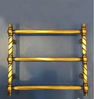 Полотенцесушитель в бронзе водяной электрический 1-06