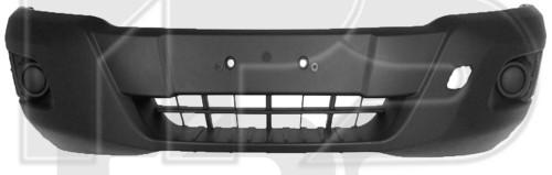 Передний бампер Ford Transit 14- серый, текстура (FPS)