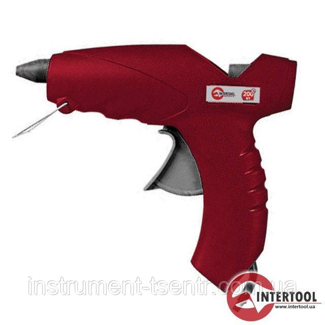 Клеевой пистолет Intertool RT-1017 200Вт