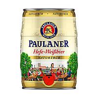 "Пиво ""Пауланер Хефе-Вайсбіе"" Paulaner Hefe-Weißbier 5 л, Німеччина, Баварія"