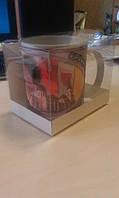 Упаковка для чашек ПВХ (прозрачная с картонной вставкой)