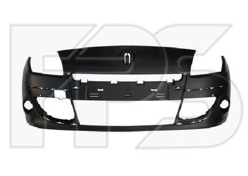 Передний бампер Renault Scenic (09-12) под покраску (FPS) 620222226R, фото 2
