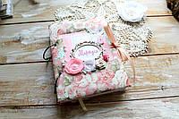 Мамины заметки, Baby book для девочки, 200 цветных, плотных страниц, фото 1